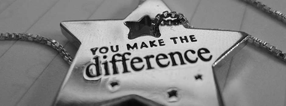 You Make a Difference | Susan Dintino