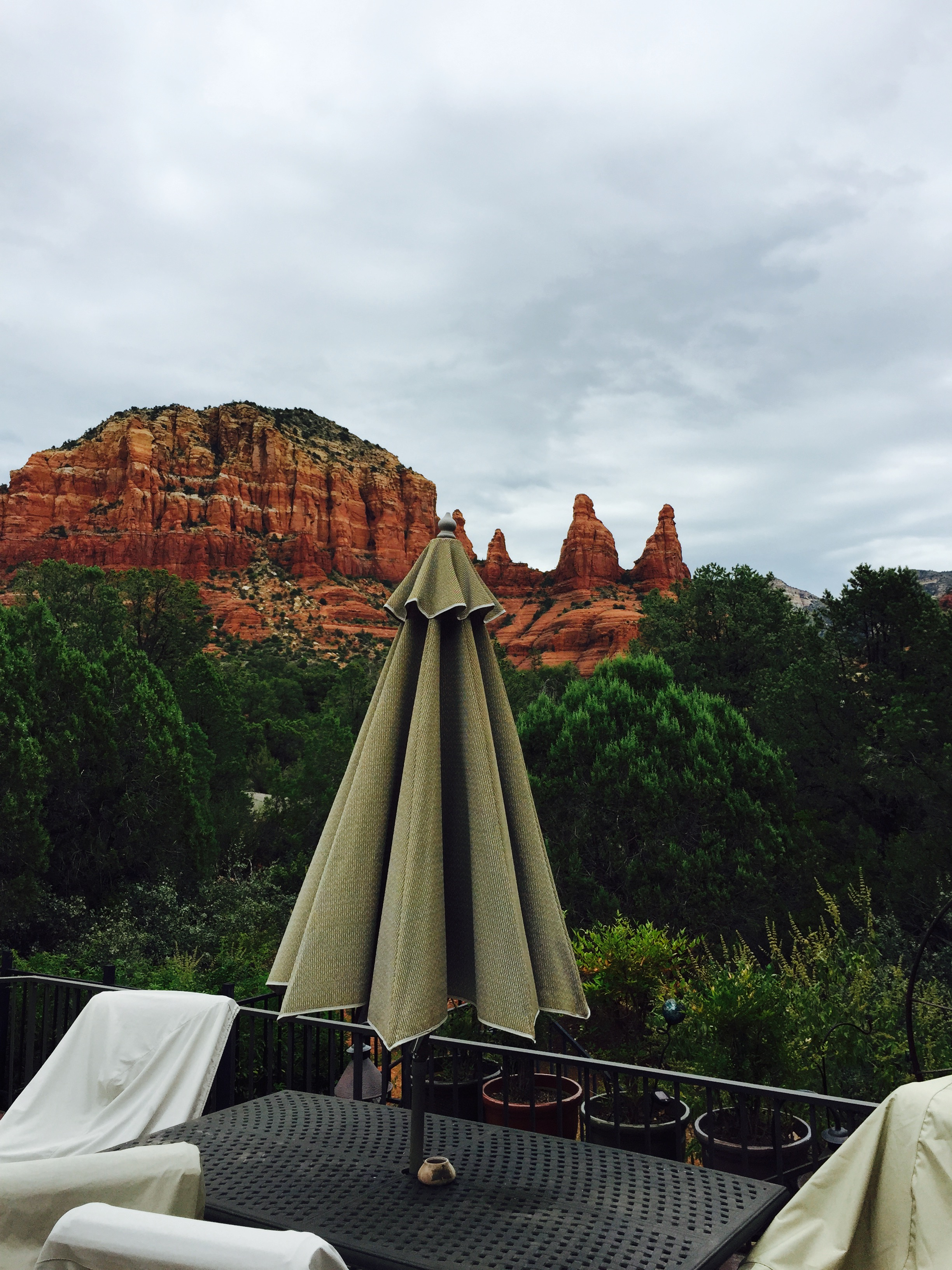 Cloudy In Sedona…Day 25