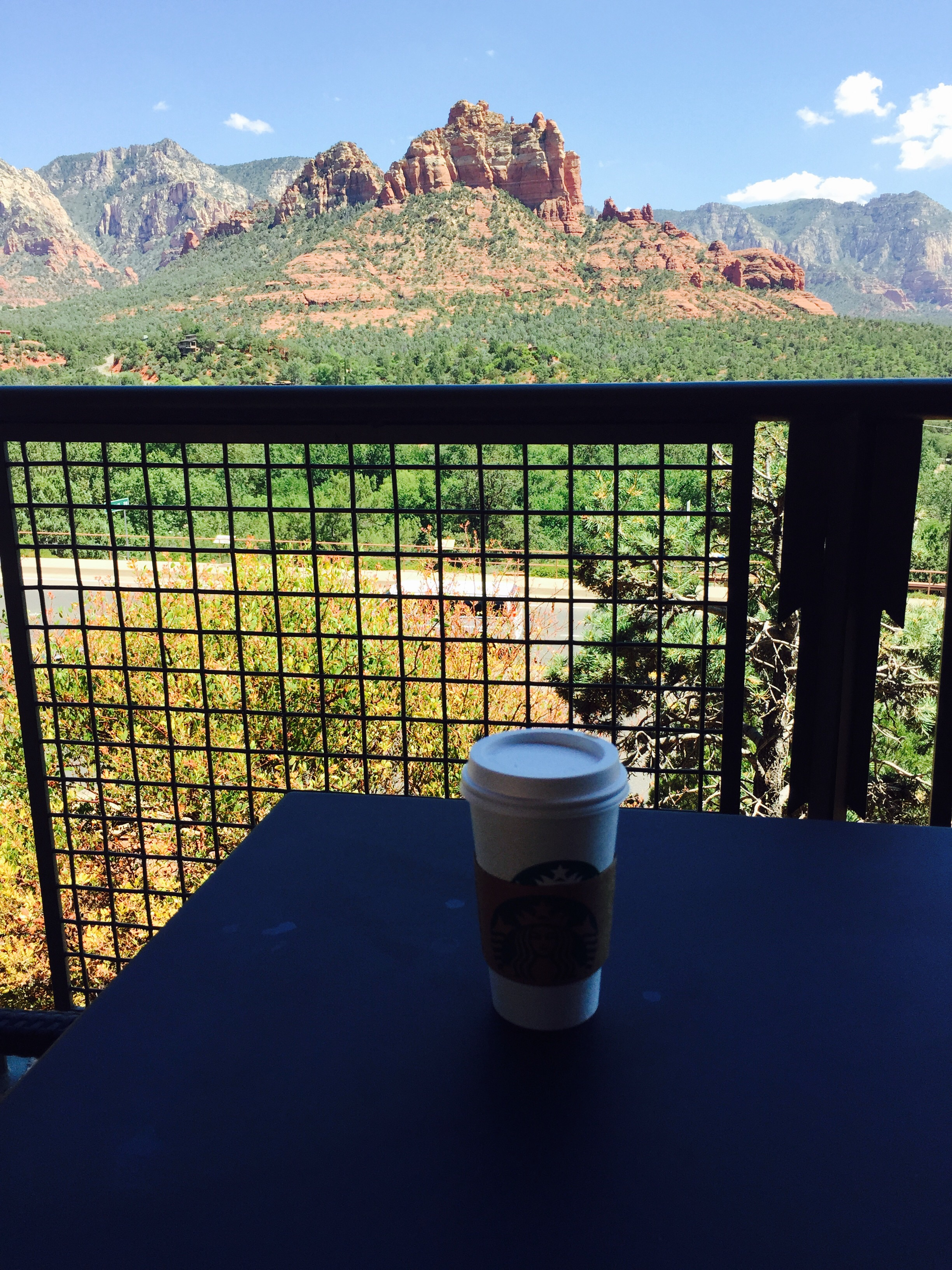 Starbucks In Sedona…Day 17